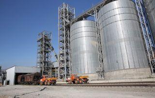 Комплексные решения по термоконтролю зерна в зернохранилищах.