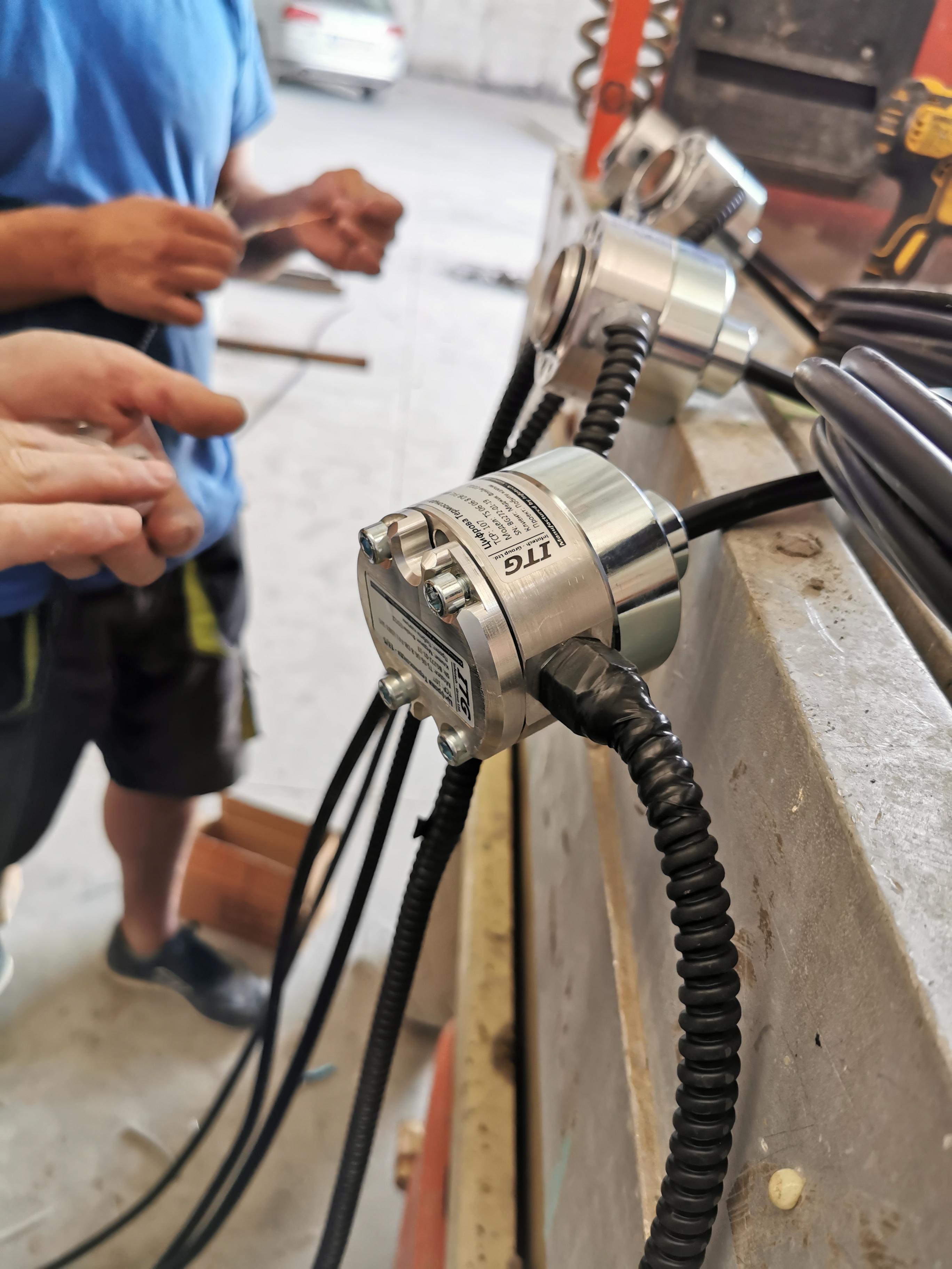 ITG grain silo temperature monitoring systems - installation Термометрії силосів і сховищ під зерно ITG | Установка