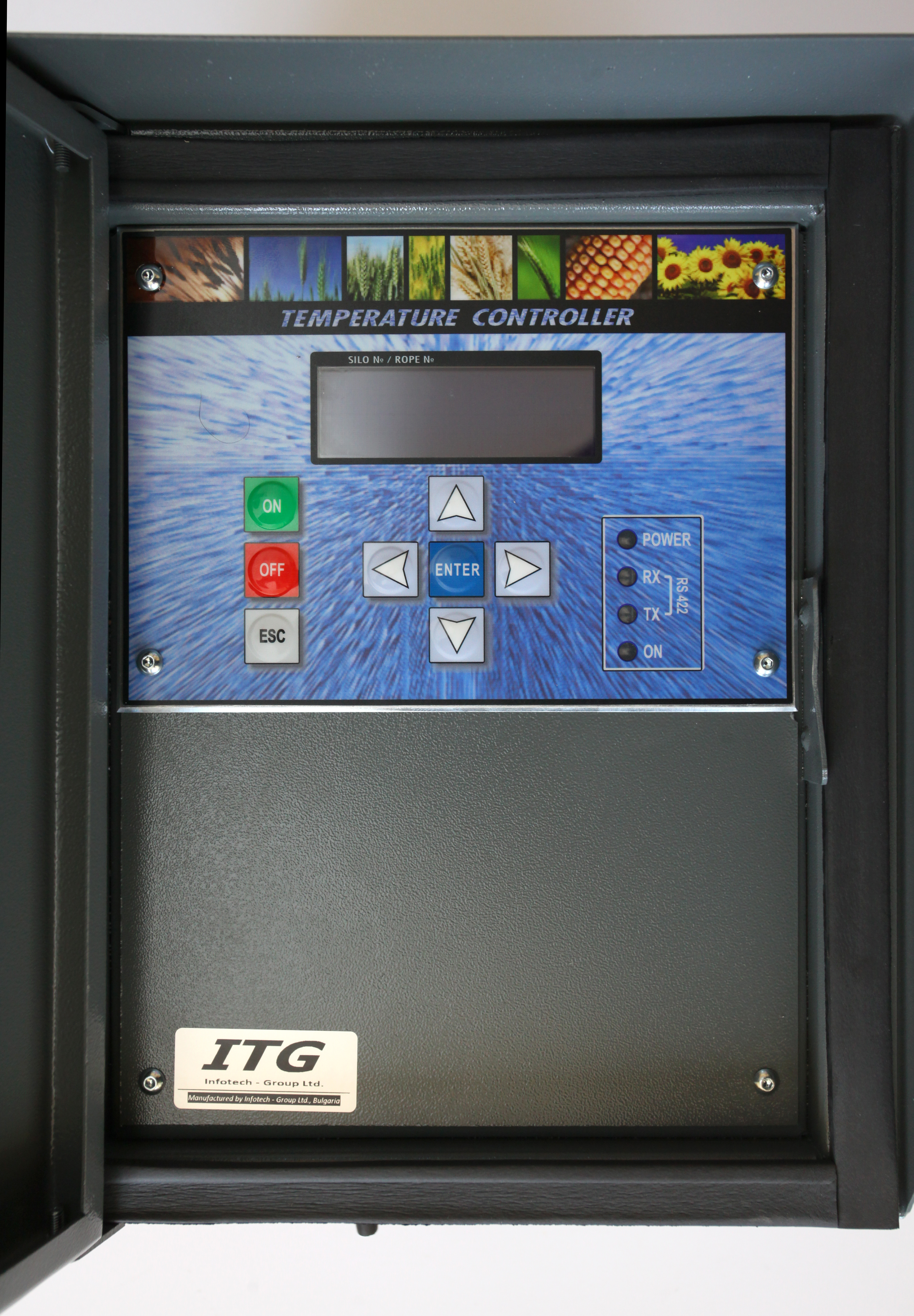 grain bin temperature monitoring system by ITG